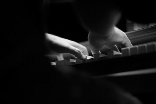 Jasha Klebe Petaluma Composer at Piano