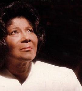 Mahalia Jackson, Photo from The Louisiana Weekly