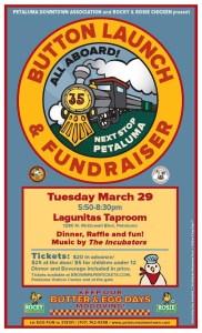 Petaluma Butter & Egg Days Parade Button Launch