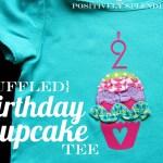Ruffled Birthday Cupcake Tee