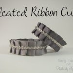Pleated Ribbon Cuff