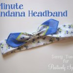 5-Minute Bandana Headband