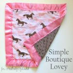 Simple Boutique Baby Lovey Tutorial