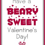 Beary Sweet Valentine Printable