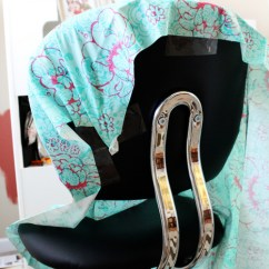 Office Chair Slipcovers Bean Bag For Toddlers Slipcover Tutorial And Tips Positivelysplendid Com