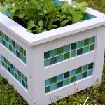 Chic Tiled Herb Garden