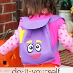 Dora the Explorer Backpack Sewing Pattern