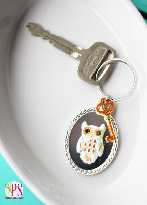 Owl Key Chain :: Positively Splendid.com