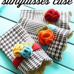 Scalloped Sunglasses Case Sewing Pattern & Tutorial