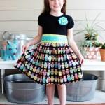 Matryoshka Doll T-Shirt Dress