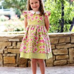 The Cottage Mama Pattern Tour – Georgia Vintage Dress