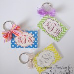 Custom Monogram Key Chains