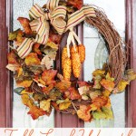 Fall Leaf Wreath (A 15-Minute Project!)
