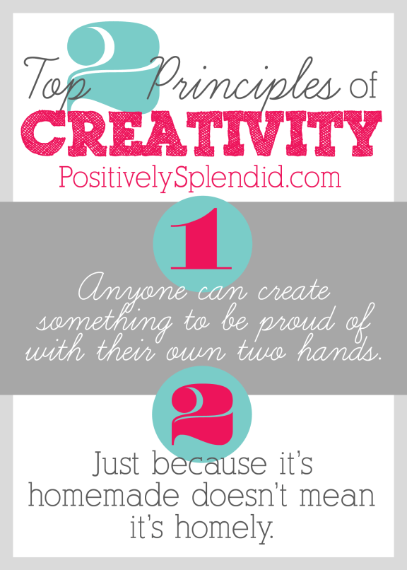 My Top 2 Pieces of Creative Advice at Positively Splendid