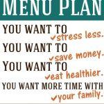 Menu-Planning, Part 1: Why Menu Plan, Anyway?