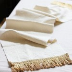 Easy Fringed Table Runner