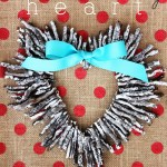 Whitewashed Twig Heart Wreath