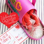 Valentine Mailbox with Free Postcard Printable #bakerybecause