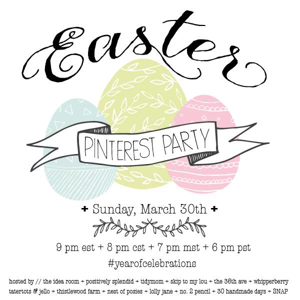 #YearofCelebrations Pinterest Party