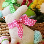 Easter Bunny Softie Pattern and Tutorial #yearofcelebrations