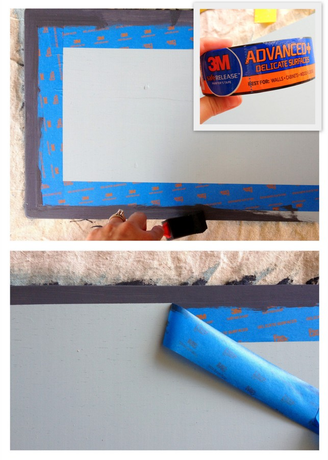 DIY Ladder Photo Display. Such a great way to showcase lots of photos! #3MDIY