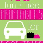 20 Fun, Free Road Trip Printables #HPFamilyTime