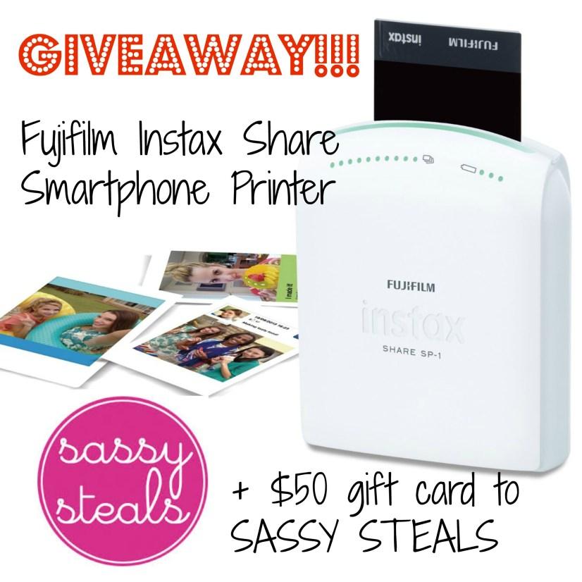 WIN an Instax Share smartphone printer!