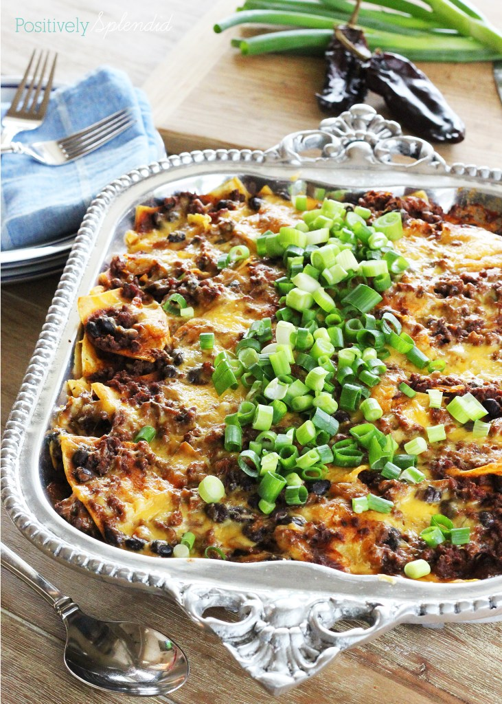 Taco casserole recipe - perfect for busy weeknights!