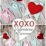 XOXO Banner Valentine Craft