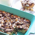 Rocky Road Blondie Recipe #HugTheMess