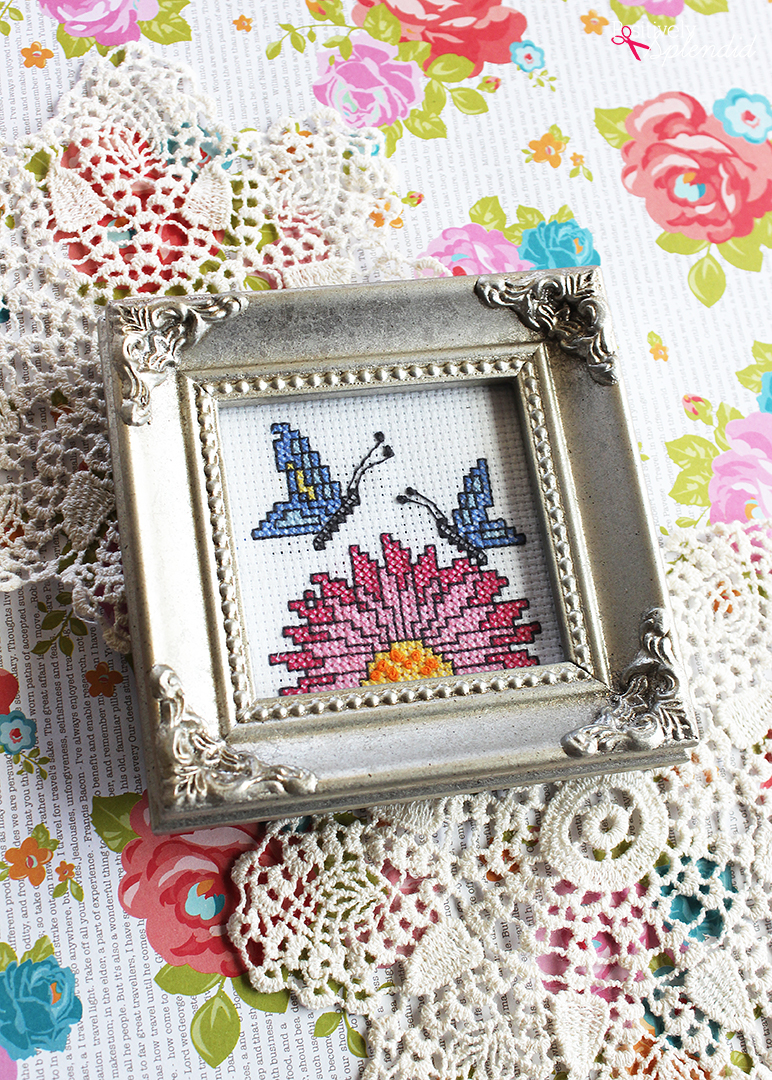 10 Beginner Cross Stitch Tips - These are great tips for getting started with counted cross stitch!