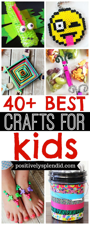 40 best kids craft