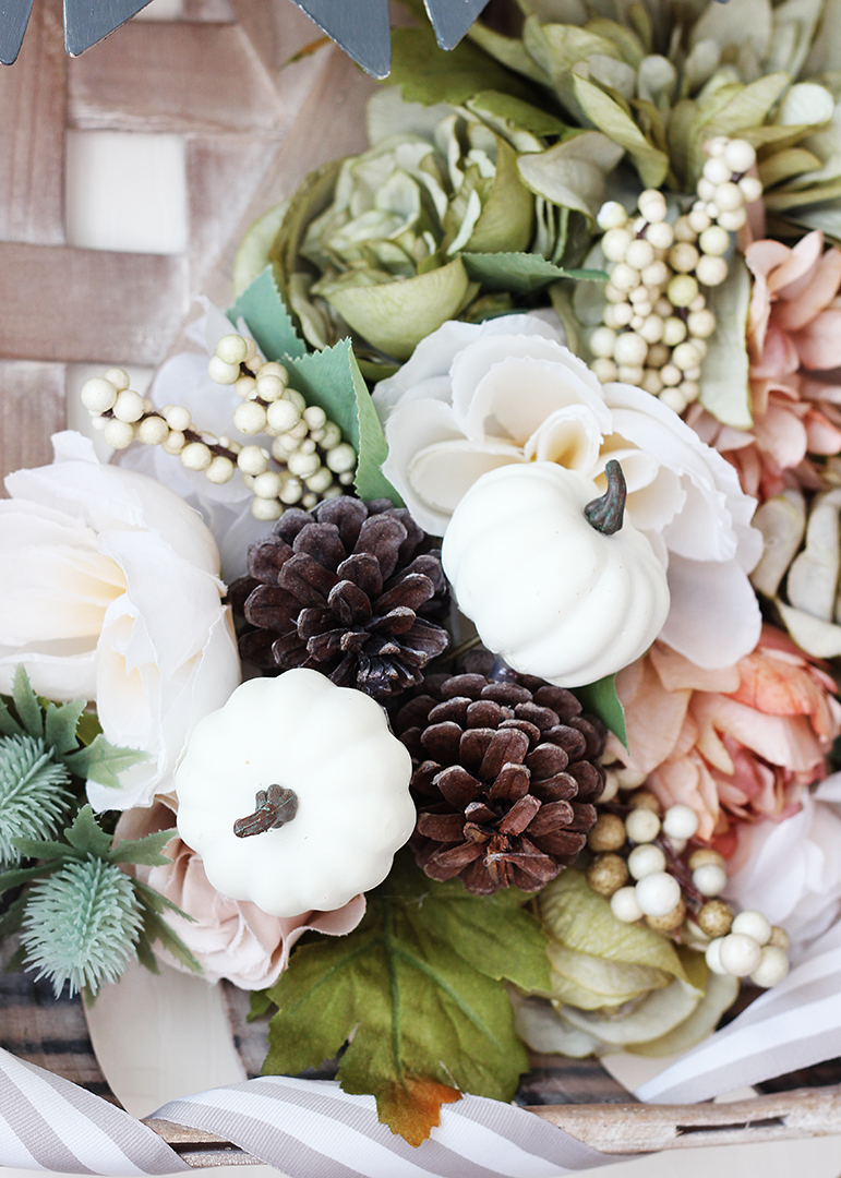 artificial fall flowers and