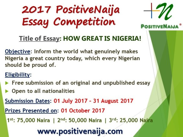 how great is nigeria competition