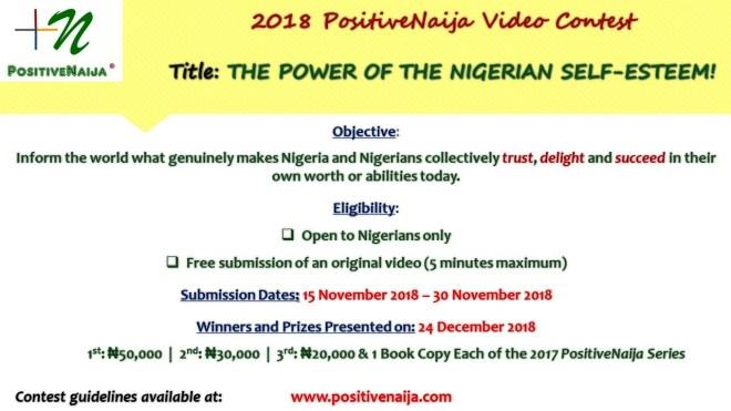 2018 PositiveNaija Video Contest