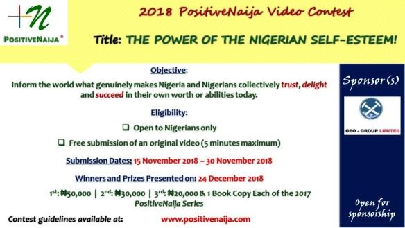 power of the nigerian self esteem