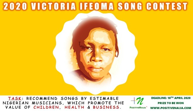 2020 Victoria Ifeoma Song Contest Event