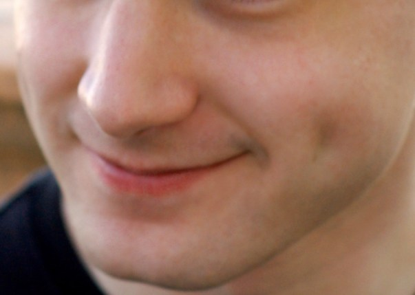 blind people smile despite having never seen someone smile before