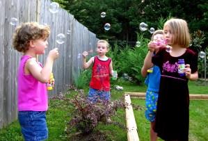 bubble play