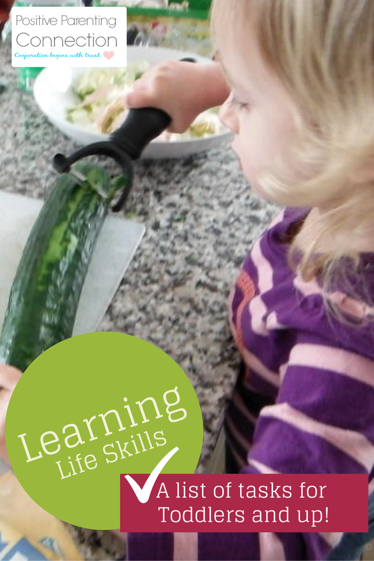 Learning Life Skills: List of Household Tasks for Different Ages and Stages