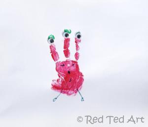 Handprint-Craft-kids