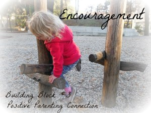 Encouragement is not the same as praise.