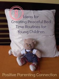 bedtime routine positive parenting