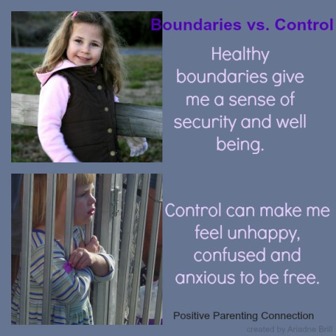 positive parenting and setting limits