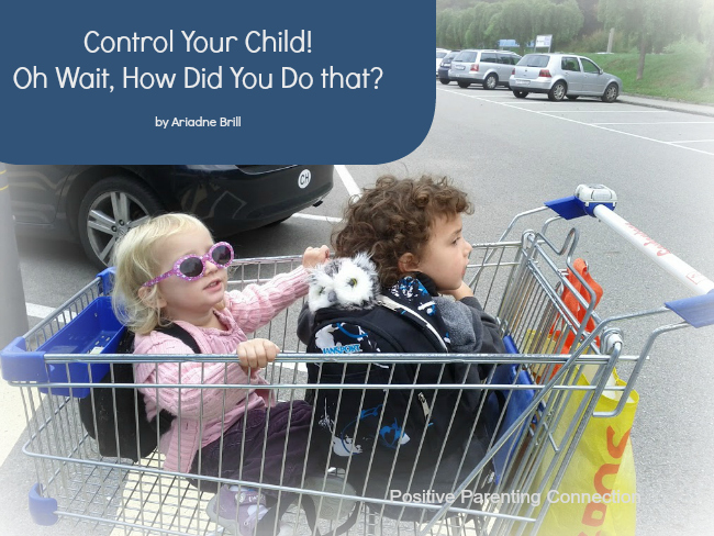 Control Your Child! Oh Wait, How did you do that?!?