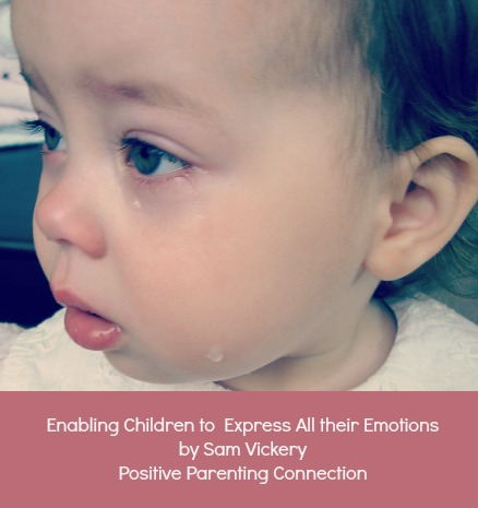 Enabling Children To Express All Of Their Emotions.