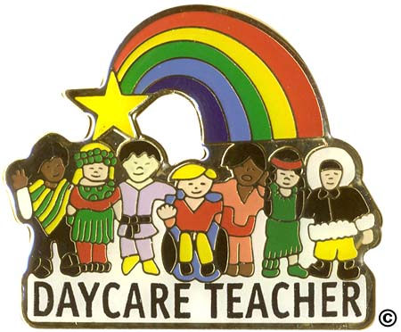Early Childhood Pins
