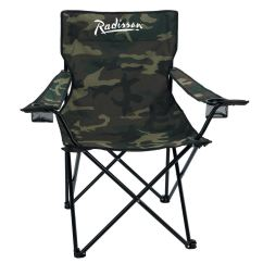 Folding Chair Nylon Cover Hire Kerry Camo Carrying Bag Positive Promotions Loading Zoom