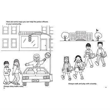 Police Officers Are My Friends Educational Activities Book
