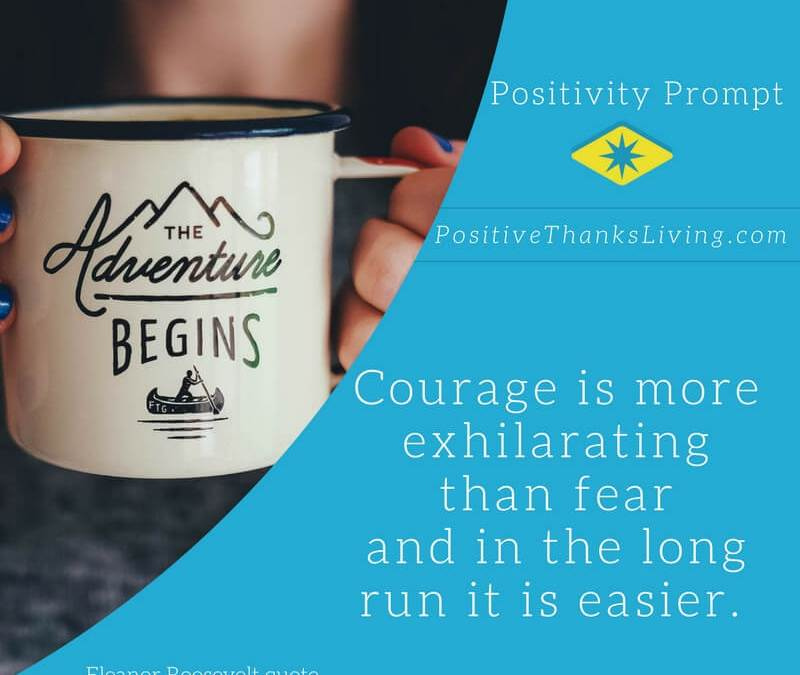 Courage is Easier in the Long Run